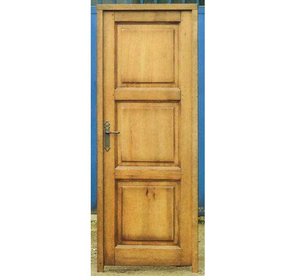 Porte d 39 int rieur bois frak massif mod le auzon 3 for Ou acheter porte interieur