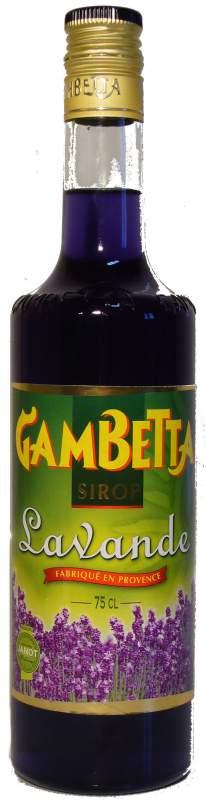 Acheter Sirop Gambetta lavande
