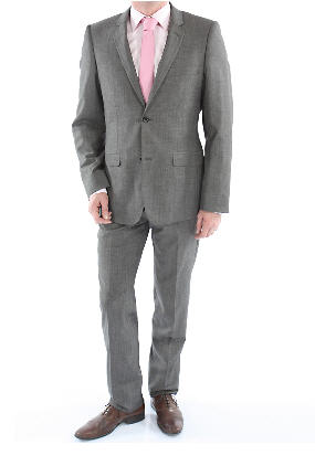 Acheter Costume Top1-David pure laine Super 150 gris moyen
