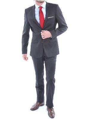 Costume Top1-David pure laine Super 100 pied de puce ...
