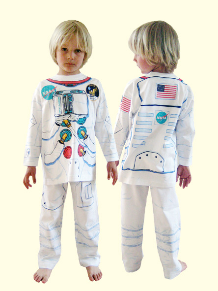 Pyjama déguisement Astronaute