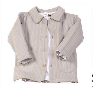 Veste boutonnière et T-shirt bébé 6-24mois