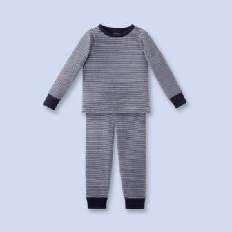 Pyjama en bouclette velours