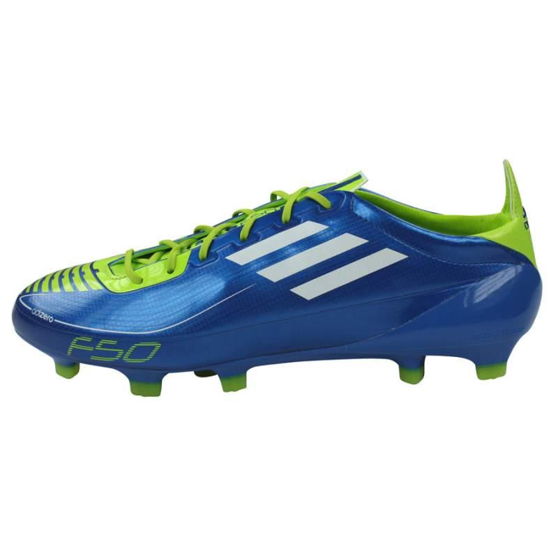 Acheter Chaussure de football adidas F50 Adizero TRX FG bleu vert - adidas