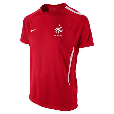 Maillot France Entraînement rouge  - Nike