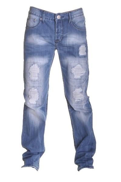 Acheter Jeans homme déchiré super fashion, délavé et poches arrières surpiquées DS-1027 (2431-k52-62)