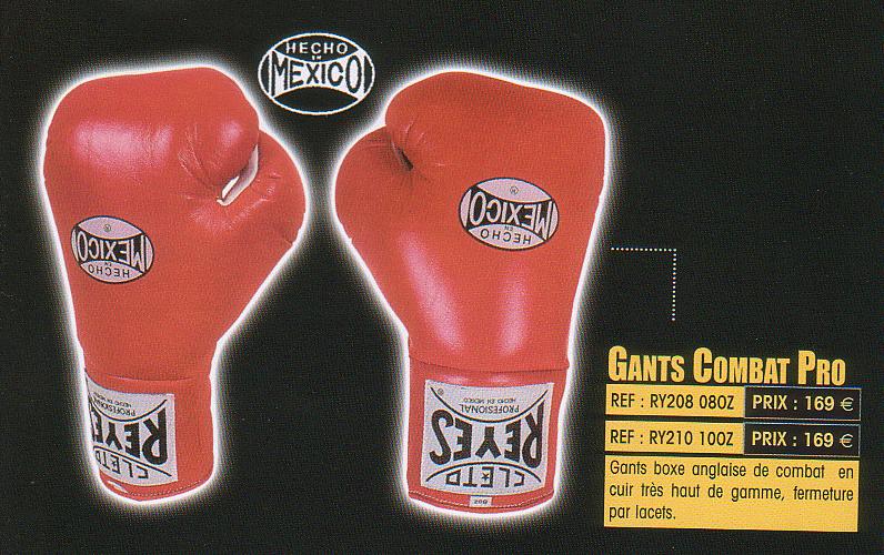 Gants combat Réf. : Rey2