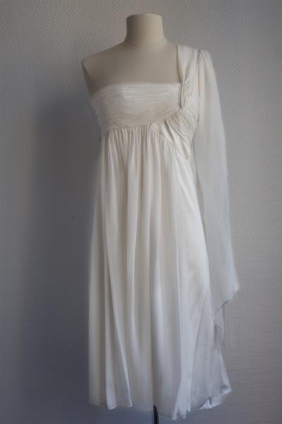 Robe ivoire Ugo Zaldi T38