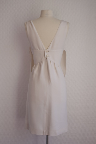 Robe écrue Chanel T40