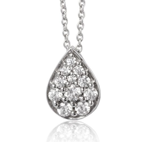 Collier diamant 0.52 ct Réf : EPD52491-052