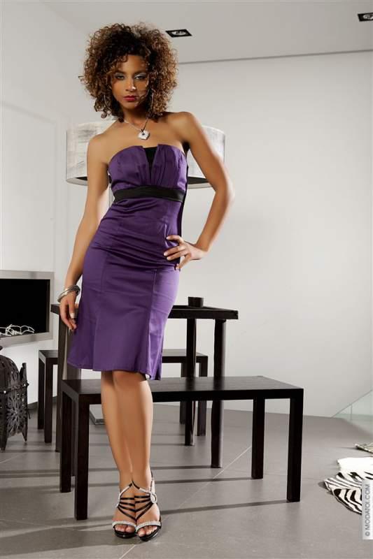 Acheter Robes (42)XL - Robes calixta taille:42 couleur:Violet - ref: V5648-42