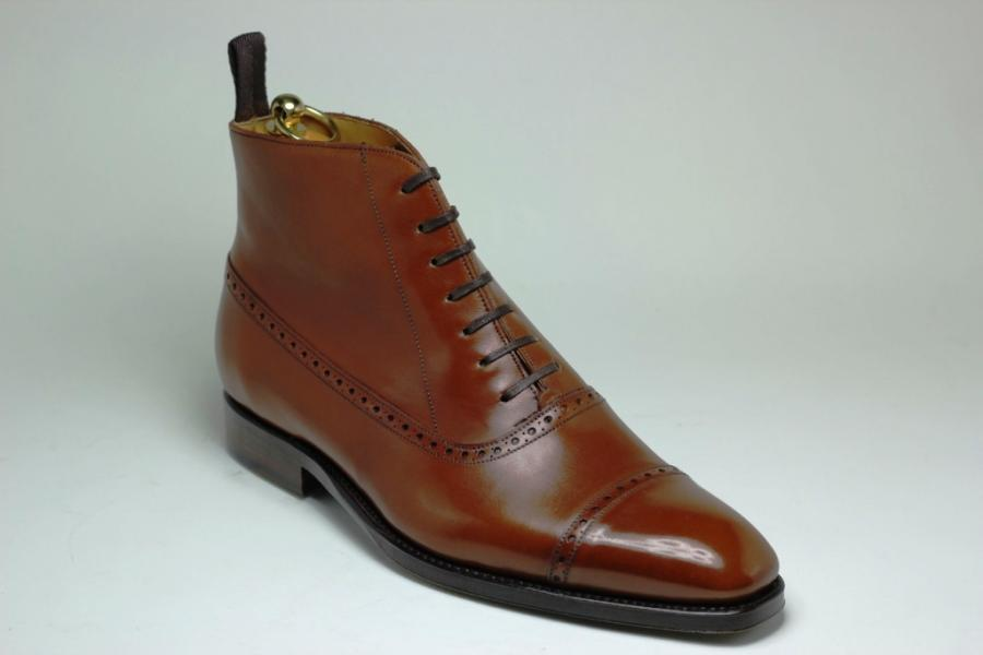 Bottines Marceau Forme 174 en Box Gold