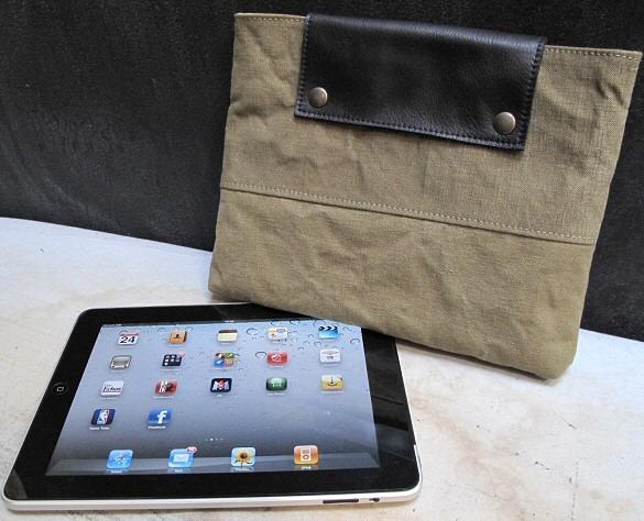 Pochette iPad Army