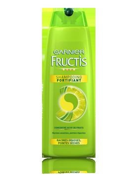 Acheter Shampooing fortifiant Garnier Fructis Racines grasses Pointes sèches