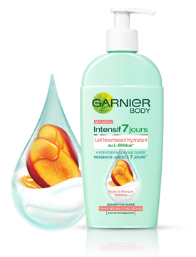 Lait Nourrissant Hydratant Garnier Body Intensif 7 jours