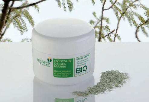 Acheter Cristaux de sel marin à l'argile verte