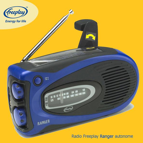 Acheter Radio autosuffisante Freeplay Ranger