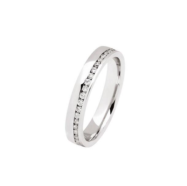 Acheter Demi alliance diamants 0.50 ct