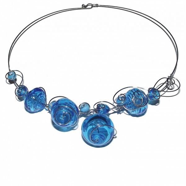 Acheter Collier bleu