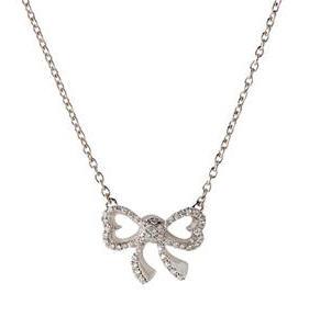 Acheter Colliers Deux Coeurs Noués. Diamants