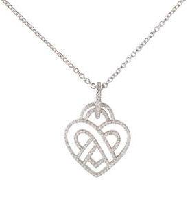 Acheter Collier Coeur Fil Mini. Diamants