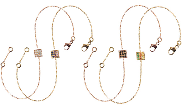 Acheter Bracelets Chainette Or Jaune Smoothie