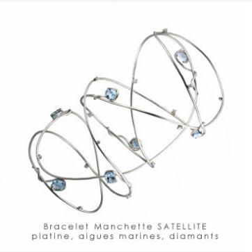 Acheter Bracelet manchette Sattelite