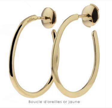 Acheter Boucles d'oreilles or jaune