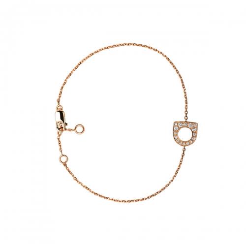 Acheter Bracelet Success Mini en or rose pavé de diamants