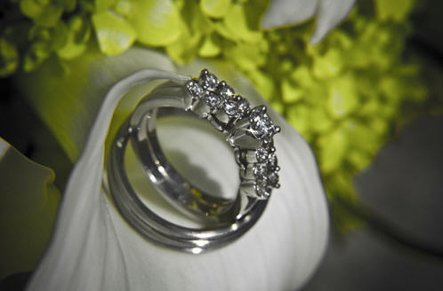 Bague brillants