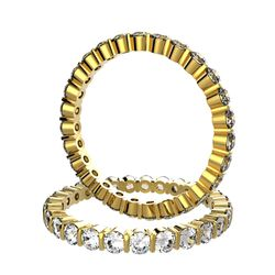 Acheter Alliance Alissa en or jaune sertie barrettes de 1,32 carat diamant DEF IF-VVS