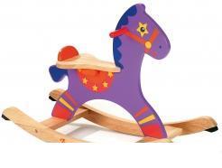 Acheter Le cheval à bascule en bois
