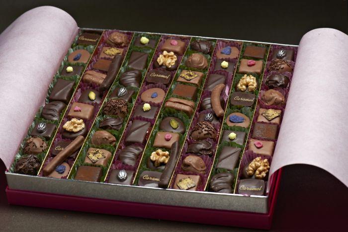 Acheter Chocolats assortis boite fantaisie
