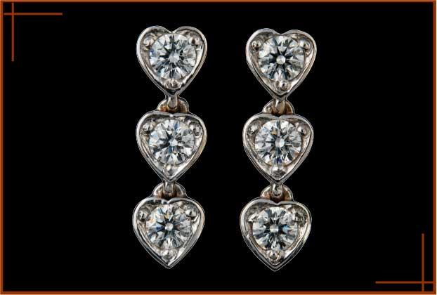 Acheter Boucles d'oreilles Coeurs