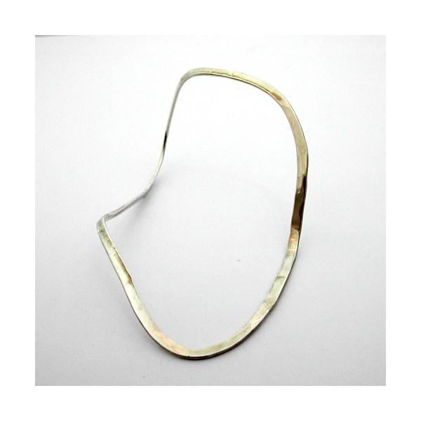 Bracelet jonc en argent 49 - Bijou de créateur