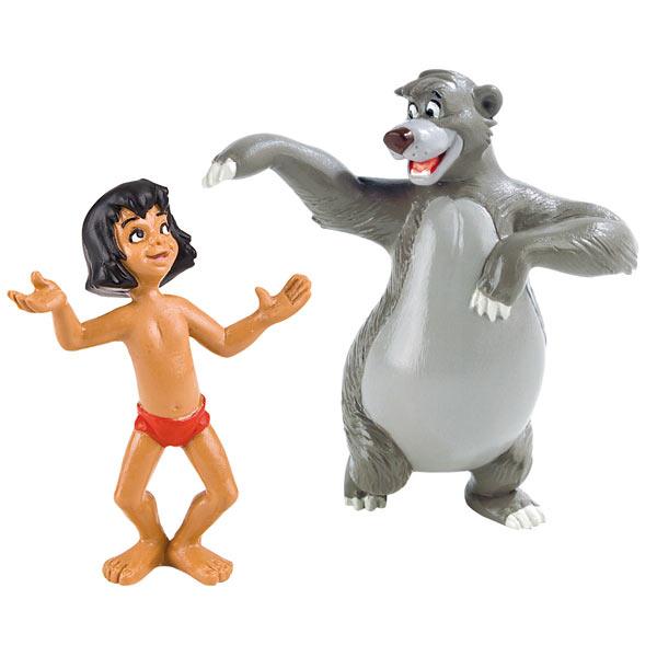Acheter Figurines Disney en plastique Mowgly et Baloo