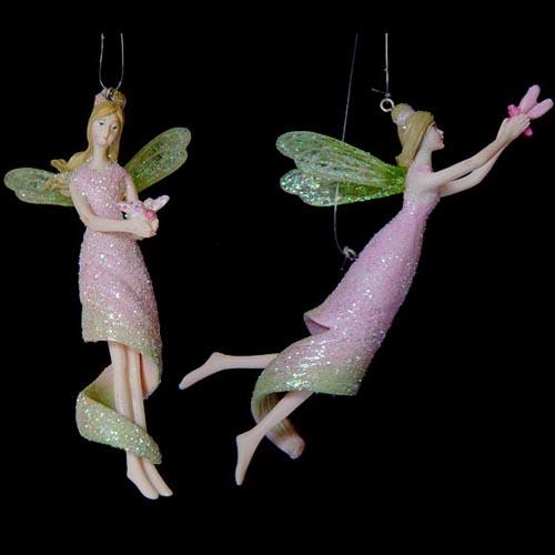 Acheter Nymph Fairy 10 cm à suspendre (x2)-vert