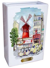Acheter Vase rectangulaire Moulin rouge