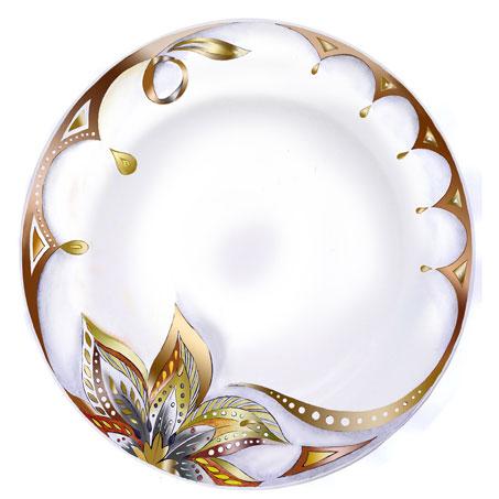 Acheter Assiette plate Lys