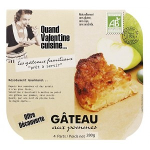 Acheter Gateau aux pommes 280g