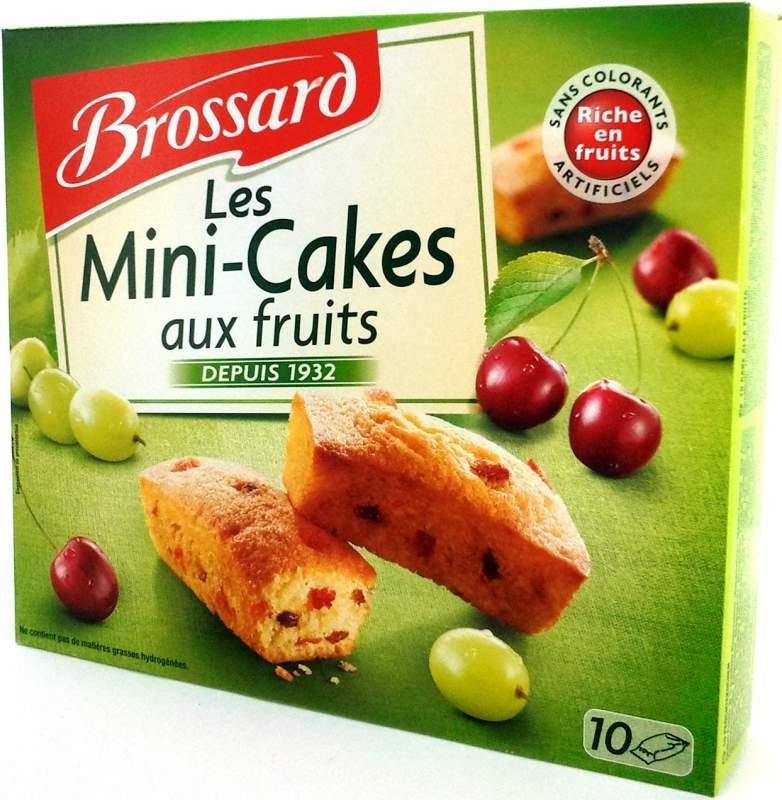 Acheter Mini fruits cakes