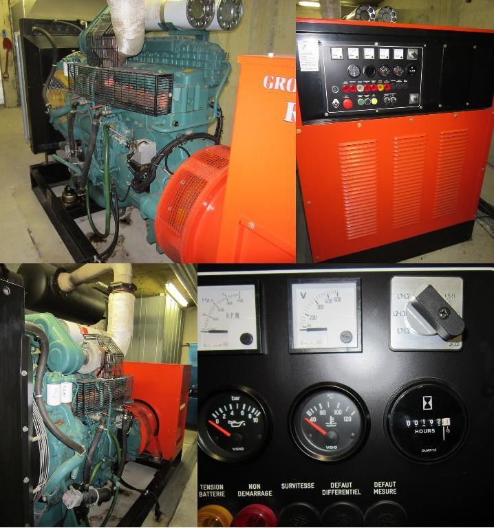Acheter Generator VOLVO Penta Leroy Somer 330 KVA