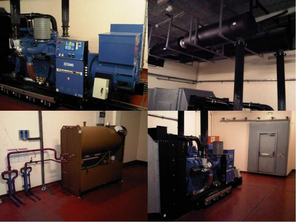Acheter Generator MTU SDMO 715 KVA