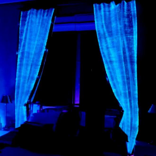 Acheter Luminous fiber optics curtains