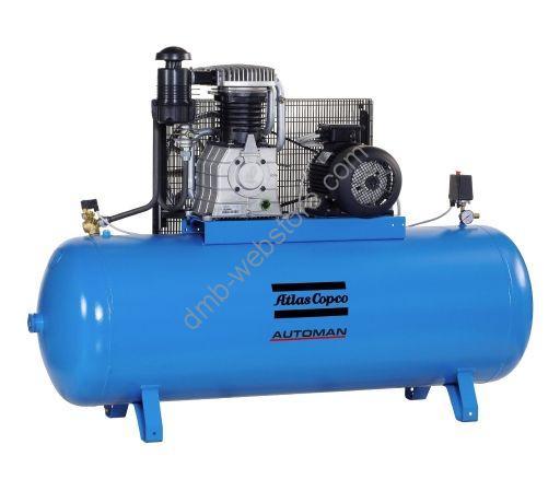 Acheter Compresseur 200 litres ATLAS COPCO AC 31 E 200 M - 3 Cv monophasé.