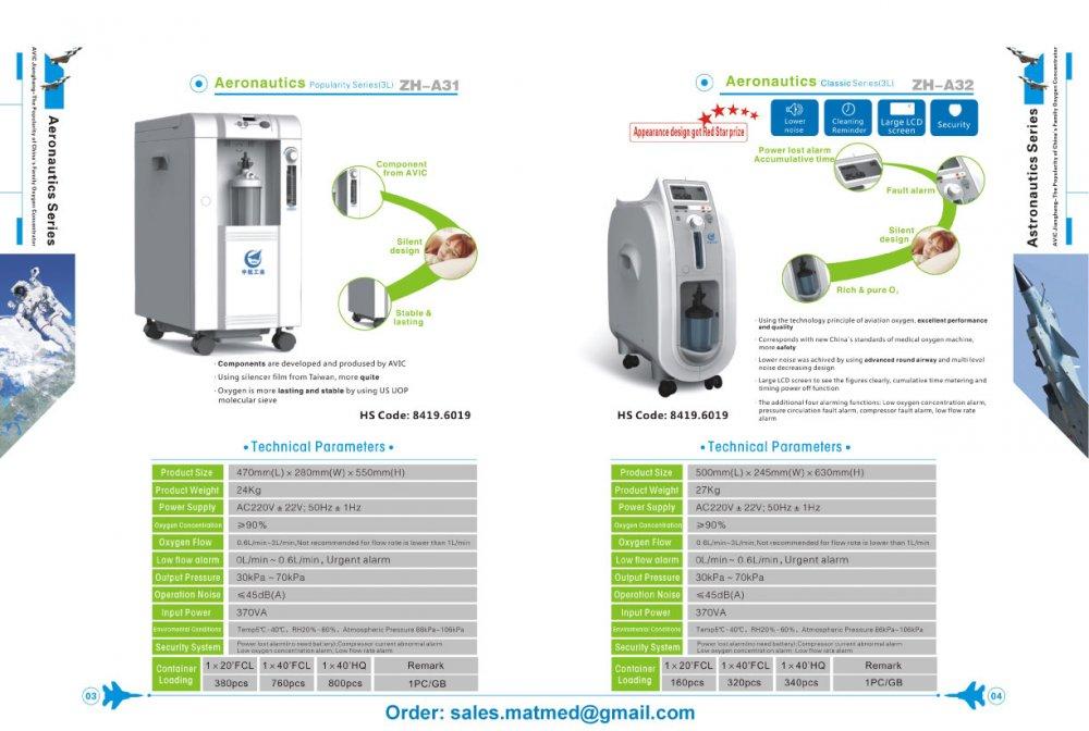 Acheter Concentrateur d'Oxygène - A31 / A32 - 3L