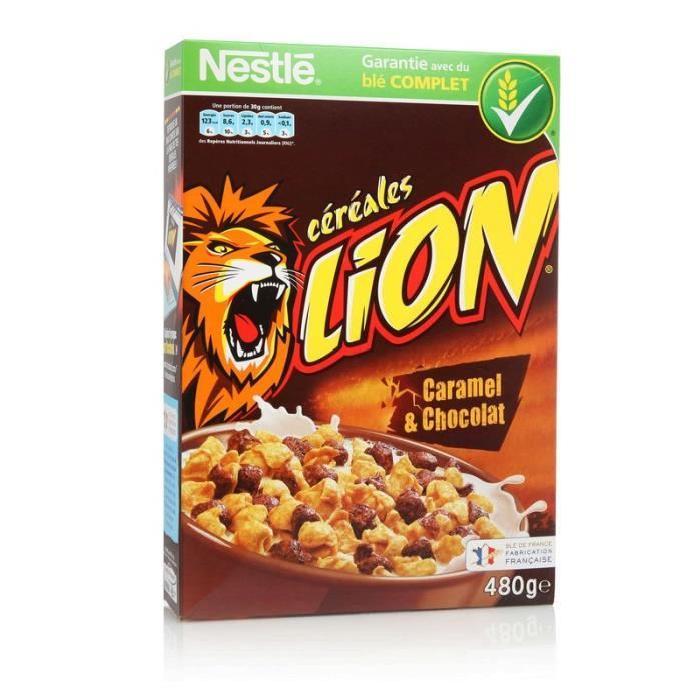Acheter CEREALE LION NESTLE 480G