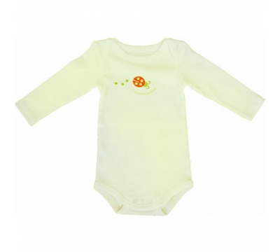 Body US coccinelle en coton bio - 12 mois