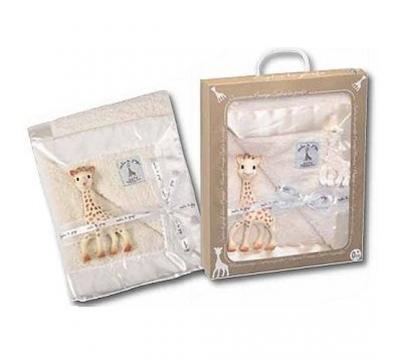 Acheter Coffret Girafe + Couverture Prestige Sophie La Girafe - Vulli