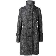 Joli manteau dans l'esprit militaire féminisé